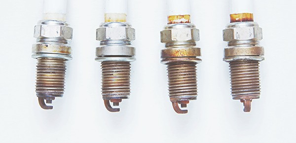 Group-Of-Spark-Plugs